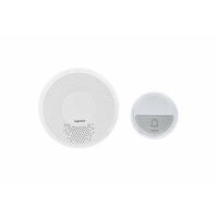 Set sonnette sans fil Komfort, blanc, 94254 0.01W, 230V