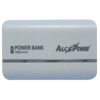 POWER BANK 7800 mAh 2 SORTIES USB DISPONIBLE UNIQUEMENT (BLANC)