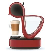 Krups YY3877FD Machine à Café Manuelle Nescafé Dolce Gusto Infinissima Capsules Multi Boissons Espresso Cappuccino Chocolat Thé 15 Bars Rouge