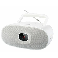 Muse MD-202 RDW Radio/Radio portable Lecteur CD Blanc