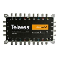 MULTISWITCH MSW 9X9X8 CASCADABLE