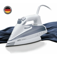 Braun TS735TP Fer à Repasser Plastique Blanc/Gris 28 x 11 x 14 cm
