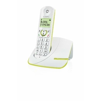 Alcatel F390 Solo Téléphone sans fil DECT Vert