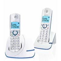 Alcatel F390 Duo Téléphone sans fil DECT Bleu