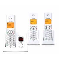 Alcatel F530 Téléphone sans Fil Répondeur avec Deux combinent Supplémentaires Gris
