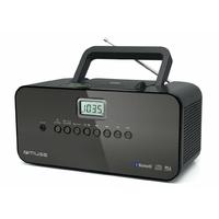 Sans K7 - Tuner numérique FM/PO - Bluetooth - Entrée auxiliaire - Noir