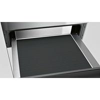 Tiroir non chauffant - 12 assiettes - Jusqu'à 15 kg - Ouverture Push Pull - Verre noir + inox