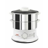 Convenient-980 W-2 bols inox compactables-CT=6 L-Minuterie-Arrêt auto-Inox
