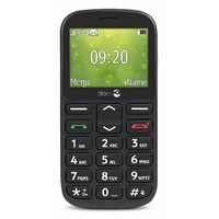Doro 1361 Téléphone Portable débloqué 2G (Ecran : 2,4 Pouces - 1 Go - Double Micro-SIM - Système d'exploitation propriétaire Doro) Noir