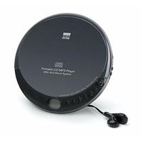 New One - Lecteur CD portable, New One [D-900] Lecteur CD/MP3 Programmable, Fonction Anti-choc, Répétition Totale ou Partielle, Écouteurs Stéréo Inclus – Noir