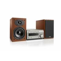Micro-Chaîne Hi-Fi DAB avec Lecteur CD et Bluetooth - Argent/Cerisier