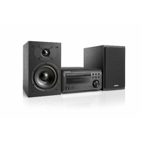 Micro-Chaîne Hi-Fi DAB avec Lecteur CD et Bluetooth - Noir/Noir