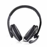 NEDIS CHST200BK Casque pour PC, Tour d'oreille, Microphone, Connecteur 3.5 mm Double