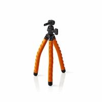Nedis GPOD3010BK Trépied Flexible 27.5 cm 1 kg Noir/Orange