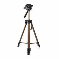 Nedis TPOD2300BZ Appareil-Photo/vidéo Trépied Photo/Vidéo Pan & Tilt 161 cm Noir/Argent