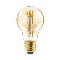 Nedis LEDBTFE27A603P Lampe à Incandescence LED Rétro E27 | A60 | 3 W | 120 LM