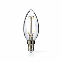 Nedis LEDBFE14CAN Lampe à Incandescence LED Rétro E14, Bougie, 2.5 W, 250 LM