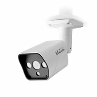 NEDIS AHDCBW10WT Caméra de Sécurité CCTV, Tube, HD, pour Une Utilisation avec Un DVR HD analogique