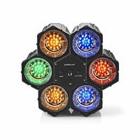 Nedis FUDI211BK6 Lampe d'Ambiance Jeu de Lumières | Multicolore | avec 126 LED
