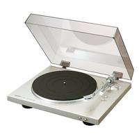 Platine vinyle Hi-Fi- Argent