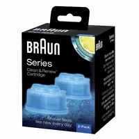 Braun Clean et Renew Cartouches de Recharge CCR - Pack de 2 Recharges