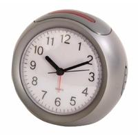 Balance he-clock-41 Réveil analogiques – Argent