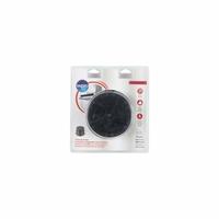 Filtre de hotte à charbon universel - Diamètre 153 mm - Auto-extinguible.