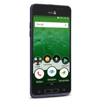 Doro 8035 Smartphone débloqué 4G (Ecran: 5 Pouces - 16 Go - Nano-SIM - Android) Bleu [Version Française]