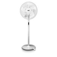 3en1 (Ventilateur sur pied, ventilateur de table, ventilateur compact de table), 40cm de diamètre, Oscillation 90°, Ecra