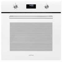 Catalyse - Multifonction - 70 L - Prog. électr. - 6 modes de cuisson - CP plein verre - Blanc