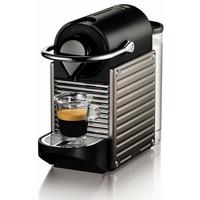 Nespresso Pixie Automatic-19 bars-1260 W-Dosage auto au volume de la tasse-Titane