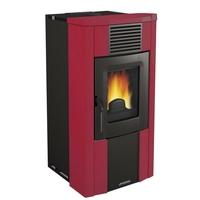 10,2 kW-Rdt:96,1%-CO:0,04%-Granulés-Prog.-TH-Sortie air chaud-Trémie 15 kg-MERCURE 2-Bordeaux