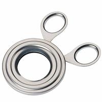 Metaltex 2047410 Oeuf Topper INOX