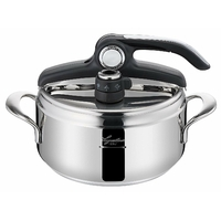 Lagostina - 12020010522 - Domina Lagoeasy'Up Autocuiseur 3,5L 22cm Inox Tous Feux Dont Induction