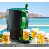 BeerTender - Système bière pression - Température fixe 4°C - 4 verres collector-Noir vert