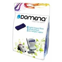 Domena 500970930 Pack de 1 Lingette Longue Fibre Spécial Parquet pour Nettoyeur Vapeur