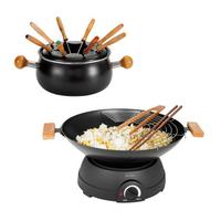 Set wok et fondue électrique Domoclip DOM194