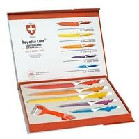 Set de 5 Couteaux inox et économe Royalty Line RL-COL5