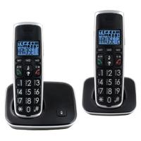 Pack de 2 téléphones fixes pour séniors Profoon PDX-2728