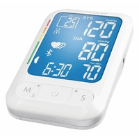 Mesureur de pression artérielle Bras Bluetooth 4.0 Blanc