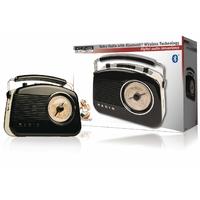 Radio rétro Bluetooth Konig HAV-TR800BL