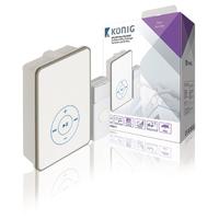 Sonnette sans fil avec fonction MP3 Konig SAS-WDB211