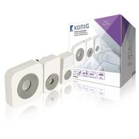 Sonnette sans fil avec 36 mélodies Konig SAS-WDB350