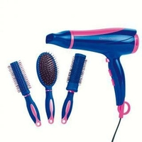 Sèche cheveux et coffret coiffure Domoclip DOS123