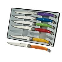 Coffret de 6 couteaux Laguiole L101