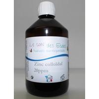 Zinc colloidal 20 ppm 500 ml