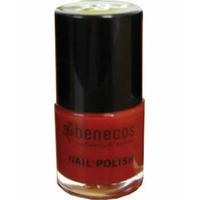 Benecos - Vernis à ongles rouge orangé (spice me up)