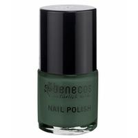 Benecos - Vernis à ongles vert forêt (Pepper green)