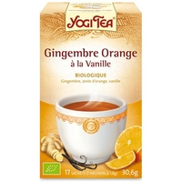 infusion gingembre orange vanille