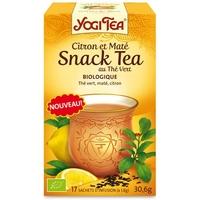 Infusion Snack tea Citron et Maté au thé vert Bio - 17 infusettes YOGI TEA